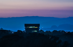 de young strata (pbo31) Tags: sanfrancisco california nikon d810 night dark september 2016 summer bayarea boury pbo31 color black blue sunset deyoung tower goldengatepark silhouette over sky observation parnassusheights