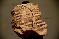 Tablet V of the Epic of Gilgamesh (Sumer and Akkad!) Tags: gilgamesh enkidu iraq tabletv mesopotamia epicofgilgamesh