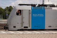 Right away.... (daveymills31294) Tags: railpool 186 286 munich ostbahnhof traxx baureihe meridian
