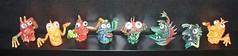 Rubber Finger Monsters (Astronit) Tags: rubber ugly finger monsters jiggler