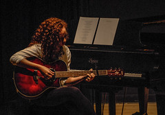 Repost: OnStage-Appleby (KWPashuk) Tags: nikon d200 nikkor70300mm lightroom kwpashuk kevinpashuk music guitar onstage lowlight performance musician piano