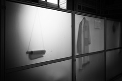 Partitions (Jeremy Brooks) Tags: blackandwhite glass italy lazio rome vatican vaticancity camera:make=fuji camera:make=fujifilm camera:model=xpro1 roma it