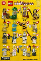 LEGO Collectable Minifigures Series 10 (71001) (Pasq67) Tags: lego minifigs minifig minifigure minifigures afol toy toys flickr pasq67 series10 2013 71001 series 10 promotional poster