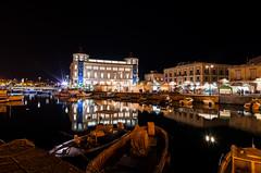 Siracusa by night (Marco Brunetti) Tags: syracuse ortigia siracusa longexposure skyline pentaxk30 mefotoroadtrip notturno night
