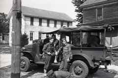 57th Infantry Brigade 006 (rich701) Tags: vintage old negatives ww2 military 1940s blackandwhite worldwartwo bw 44thinfantrydivision newjerseynationalguard 57thinfantrybrigade ng njng fortdix nationalguard newjersey nj njarng