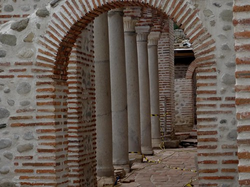 The episcopal basilica in Sandanski is from the 4th century