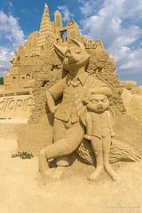 073 - Burgas - Sand Sculptures Festival 2016 - 24.08.16-LR (JrgS13) Tags: bulgarien filmhelden outdoor reisen sand sandscuplturefestivals sandskulpturenfestival urlaub burgas