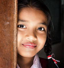 Indonesia (mokyphotography) Tags: indonesia ubud people persone portrait ritratto girl ragazza viso face eyes school scuola smile sorriso
