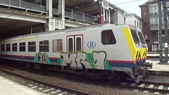 Graffiti art on trains belgium (bbo16) Tags: belgiangraffiti graffititrain sncb nmbs