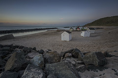 No. 1070 Lønstrup after Sunset (H-L-Andersen) Tags: longexposure lønstrup boat boats fishing beachhouses 6d canon6d canoneos6d lee leefilters manfrotto hlandersen sunset evening denmark sea water beach hirtshals calm seascape landscape