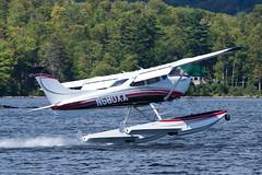 Wipaire Cessna 182S N580XX (jbp274) Tags: lake water greenville greenvilleseaplaneflyin flyin airplanes seaplane floatplane 52b cessna c182 skylane wipaire mooseheadlake