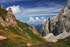 Valentintoerl_east_view (Vid Pogacnik) Tags: carnic alps alpi carniche karnisches hauptkamm valentin toerl geology geologie