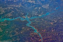 Barragem (donscara) Tags: barrada barragemdocastelodebode portugal barreda barragem castelo bode river lake instagram photooftheday landscape air