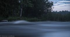 Moving water (JohannesLundberg) Tags: location water dallven frnebofjrdensnationalpark leefilter sevedskvarn littlestoppernd6 scandinavia europe evening sweden skandinavien gvleborgsln se