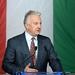 Semjén Zsolt miniszterelnök-helyettes, a Kereszténydemokrata Néppárt elnöke