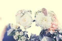 <3 (sinasohn.photography) Tags: wedding double exposure 5d canon flowers silhouette