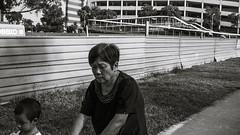 grandma (mohamedyamin_masop) Tags: canon6d street people monochrome family
