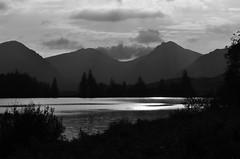 Loch Arklet & The Arrochar Alps (brightondj - getting the most from a cheap compact) Tags: thirdwalkscotlandwaterlochloch arklet landscape trossachs