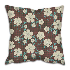 Decorative Cushion Pillow Cases (CushionPillow) Tags: pattern flower floral polkadot scope congratulations cute retro photo decoratively day birthday illustration picture card compendium postal celebrating gift holiday greeting invitation triumph draft template bow wallpapers background vector eps10