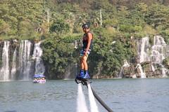 Flyboarding 3700 (Petr Novk ()) Tags: flyboard flyboarding sport watercarnival watersport   river water     china na  guangxi  liuzhou  asia asie city