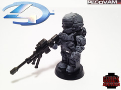 Spartan Warrior-3 (pecovam) Tags: brick lego 4 halo warrior custom affliction spartan pecovam