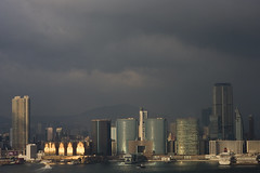Kowloon Sunset and Storm (leitzlover) Tags: storm hongkong day kowloon regionwide