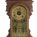 50. Victorian Walnut Mantel Clock
