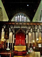 Lincoln, St Mary Magdalene, Bailgate (jmc4 - Church Explorer) Tags: church screen lincolnshire lincoln magdalene