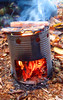 bens hobo stove (fishfish_01) Tags: camping camp forest outdoors fire woods campfire survival foraging bushcraft bivvi kellykettle stormkettle ghillikettle