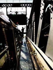 Dans le bac de l'ascenseur à bateaux N°2 d'Houdeng-Aimeries (claude lina) Tags: canal belgique centre hainaut péniches ecluses patrimoinedelunesco houdengaimeries ascenseurshydrauliques voieshydrauliques