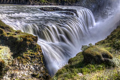 Gullfoss (Fil.ippo) Tags: longexposure travel fall water island waterfall iceland nikon power queen regina acqua gullfoss hdr filippo cascata islanda d5000