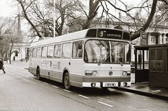 7749-006 Merseyside PTE 7 YFM 7M LN 1151/1R Ld B46D Lord Street Southport 20th March 1977 (antrimfj) Tags: 7 southport leylandnational merseysidepte 11511r yfm7m