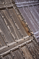 DSC_0685 [ps] - Linen Rotation (Anyhoo) Tags: door old cambridge texture wooden carved gate pattern timber decoration carving nails worn split cambridgeshire studs repeating panelling cambs anyhoo linenfold photobyanyhoo