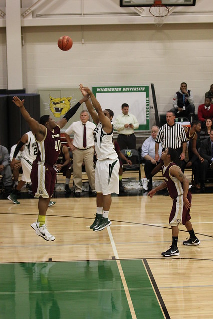 Sophomore Rashaun Rasheed scored 15 points on 6-of-10 shooting against West Chester on Tuesday night