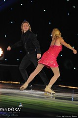 Jozef Sabovcik and Shae-Lynn Bourne