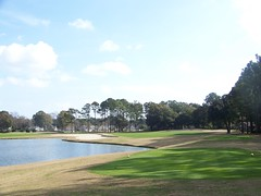River Club #18 from tee (tewiespix) Tags: beach club river golf south course carolina myrtle inlet murrells
