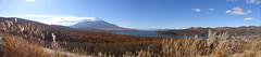 Mt.Fuji and Yamanakako (yumi3) Tags: autumncolors mtfuji yamanakako