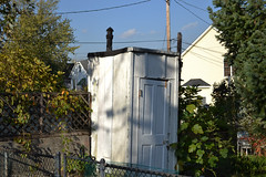 Hoes Heights, Baltimore (Monument City) Tags: building md backyard farm baltimore historic neighborhood outhouse remnant monumentcity hoesheights lucyhoe