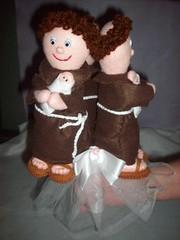 Buqu de Santo Antonio (Elaine >Artesanatos<) Tags: casamento feltro antonio santo buqu
