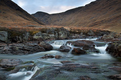 River South Esk (Christian Hacker) Tags: park longexposure autumn wild water canon river landscape eos scotland highlands rocks little angus south scottish falls glen national waterfalls isolation flowing wilderness isolated cairngorm cairngorms glens clova esk 50d