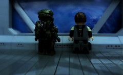 LEGO Halo 4 - No Matter the Cost (MGF Customs/Reviews) Tags: war lego infinity chief 4 halo games master requiem ops spartan cortana lasky unsc prometheans
