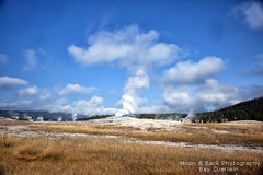 HERE SHE COMES! (Aspenbreeze) Tags: rural countryside oldfaithful yellowstonenationalpark geyser aspenbreeze topphotospots tpslandscape gpsetest bevzuerlein