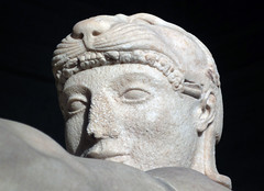 Herakles (Face), East Pediment