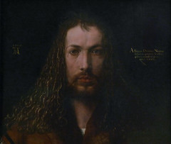 Dürer, Self-Portrait, bust
