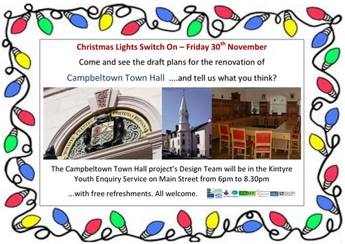 campbeltown town hall invitation