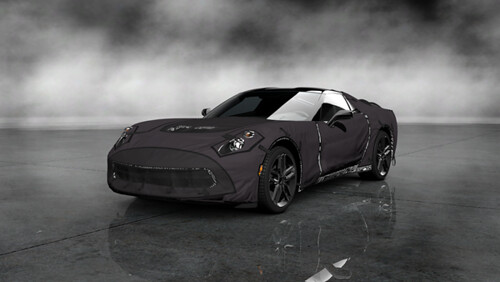 Chevrolet Corvette C7 Test Prototype _갋2_73Front