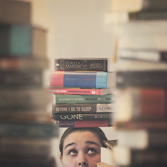 """A Mind Needs Books as a Sword Needs a Whetstone"" (63/365) (ChelseyLeBlanc) Tags: selfportrait game self sleep tide harry potter harrypotter books before gone revenge got 365 novels thrones tyrion lannister 365project"