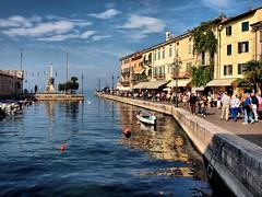 Lake Garda  Lazise 7th Oct (saxonfenken) Tags: city people motif buildings boat town waterfront harbour quay superhero lakegarda yourock lazise gamewinner 9984 challengeyou challengeyouwinner a3b friendlychallenges thechallengefactory thechallengfactory herowinner pregamewinner thumbsuptwo 9984boats