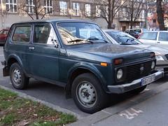 Lada 2121 Niva (Skitmeister) Tags: serbia belgrade beograd srbija belgrado serbien  belehrad srpsko serbija   servi carspot   skitmeister