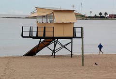 Runner (carlos_ar2000) Tags: naturaleza man beach nature uruguay sand playa arena montevideo runner viewpoint hombre mirador corredor pocitos
